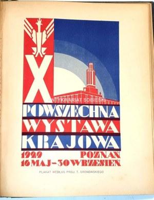POWSZECHNA WYSTAWA KRAJOWA W POZNANIU w roku 1929. t.1-5 [komplet w 5 wol.]
