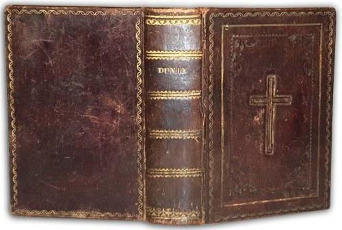 DUNIN - KSIĄŻKA DO NABOŻEŃSTWA wyd.1842r. SKÓRA