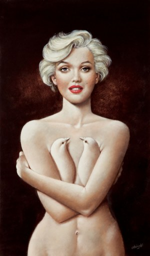 Rafał Olbiński (ur. 1943), Dreamed of Marilyn
