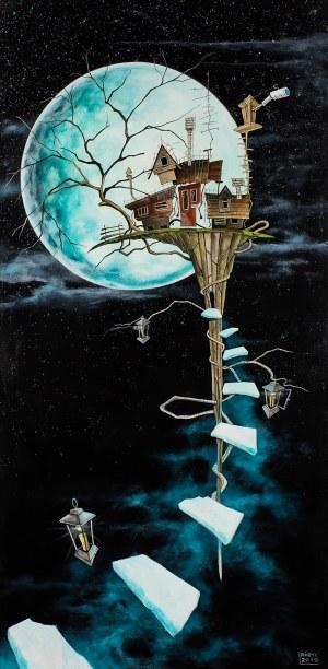 Dariusz Franciszek Różyc, Magic moon, 2019