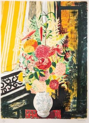 Mojżesz Kisling (1891-1953), KWIATY W BIAŁYM WAZONIE