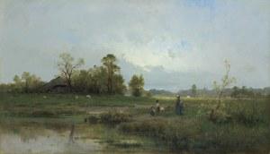 Sidorowicz Zygmunt, NA PRZECHADZCE. SPACER, 1880