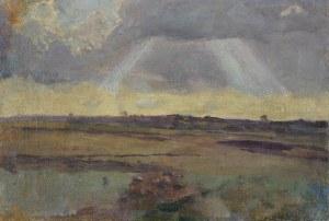Chełmoński Józef, PEJZAŻ Z BOCZEK, PO 1900