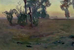 Stanisławski Jan, KRAJOBRAZ O ZMIERZCHU, PRZED/LUB 1897