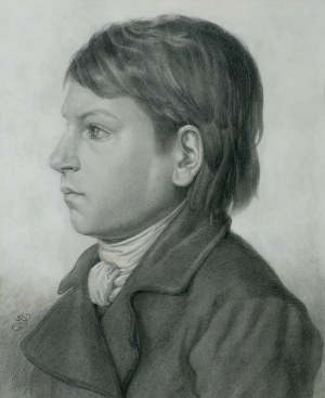 Grottger Artur, PORTRET CHŁOPCA