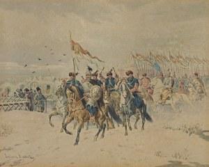 Kossak Juliusz, ODSIECZ SMOLEŃSKA, 1879