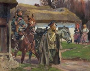 Kossak Wojciech, ESKORTA, 1916