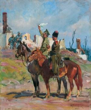 Kossak Wojciech, KAPITULACJA, 1916
