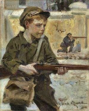 Kossak Wojciech, ORLĄTKO, LATA 20. XX W.