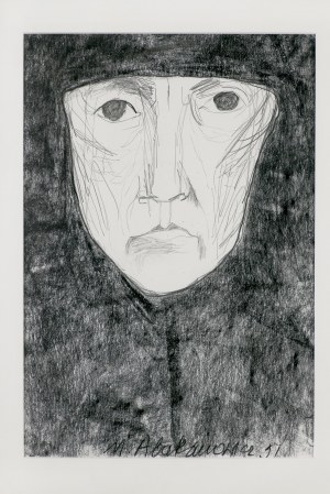 Abakanowicz Magdalena, MYŚLENIE (THINKING), 1991