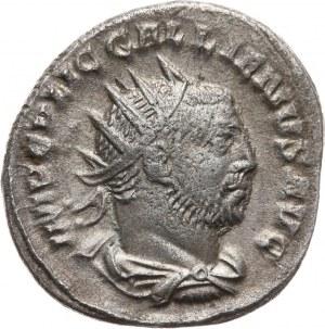 Cesarstwo Rzymskie, Galien 253-268, antoninian 256, Viminacium (ob. Kostolac w Serbii)