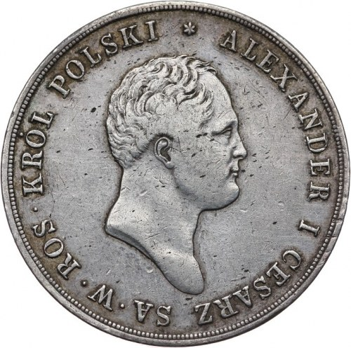 Królestwo Polskie, Aleksander I 1815-1825, 10 złotych 1820 I.B., Warszawa