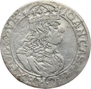 Polska, Jan II Kazimierz 1649-1668, szóstak 1660 TLB, Kraków.
