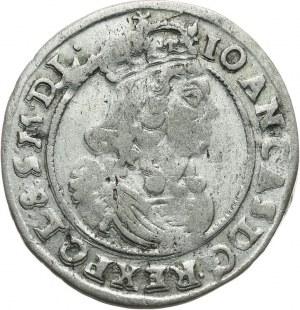 Polska, Jan II Kazimierz 1649-1668, szóstak 1666 A T.