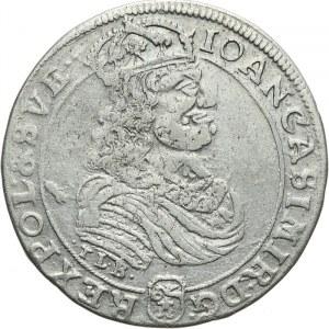 Polska, Jan II Kazimierz 1649-1668, ort 1668, Bydgoszcz