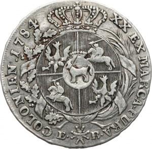 Polska, Stanisław August Poniatowski 1764-1795, półtalar 1784, Warszawa.
