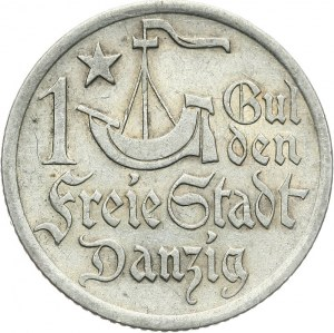 Wolne Miasto Gdańsk 1920-1939, 1 gulden 1923, Utrecht