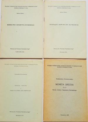Krzyżanowska, Kunisz - LOT 4 BROSZUR PTAiN