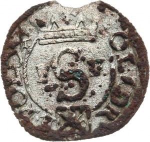 Polska, Zygmunt III Waza 1587-1632, szeląg 1591, Poznań