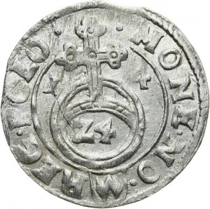 Polska, Zygmunt III Waza 1587-1632, półtorak koronny 1614, Bydgoszcz.