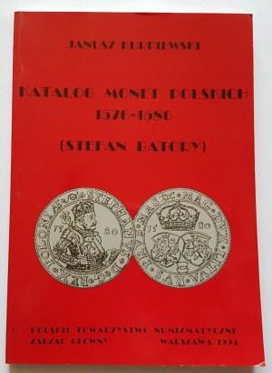 Kurpiewski Janusz, Katalog monet polskich (1576-1586) Stefan Batory - Warszawa 1994