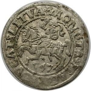 Polska, Zygmunt II August 1545-1572, półgrosz 1547, Wilno