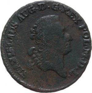 Polska, Stanisław August Poniatowski 1764-1795, trojak 1776 EB, Warszawa