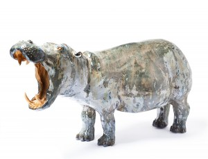 Aneta Śliwa, Hipopotam, 2019