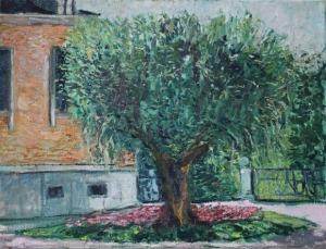 Wojciech Adam Bański, Drzewo w Barcelonie