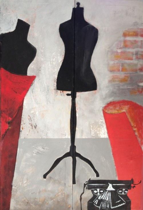 Agata Rościecha, Z cyklu Manekiny 4, 2014