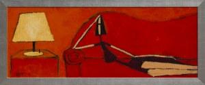 Małgorzata Stępniak Kobieta na sofie, 2002,