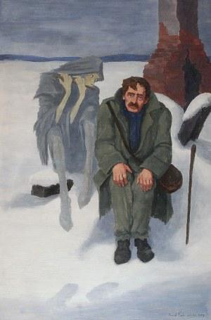 Józef POCHWALSKI (1888-1963), Pogorzelec, 1927