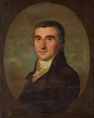E. LOSSIUS, Portret mężczyzny w fularze, 1813
