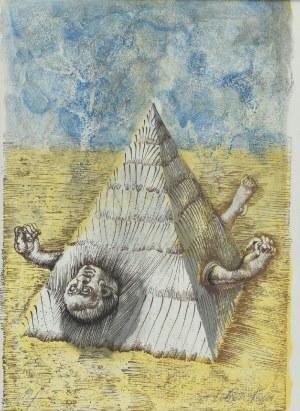 Jan LEBENSTEIN (1930-1999), Uwięziony w piramidzie