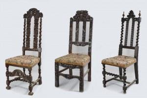 3 fotele tzw. gdańskie