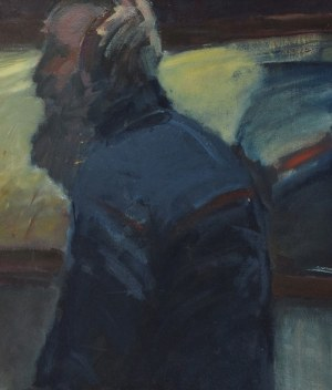Malarz nieokreślony, Niebieska postać, 1984
