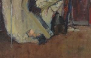 Malarz nieokreślony, Mężczyzna z martwą naturą, 1984