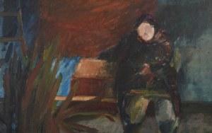 Malarz nieokreślony, Kobieta z martwą naturą, 1984