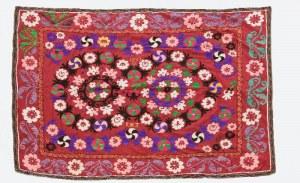 Tkanina dekoracyjna z motywem kwiatowym