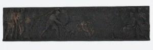 Plakieta dekoracyjna: Herkules walczący z bykiem