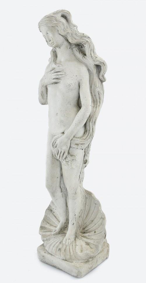 Rzeźba ogrodowa - Wenus wyłaniająca się z muszli