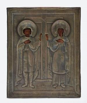 Ikona: Św. Konstantyn i Św. Helena