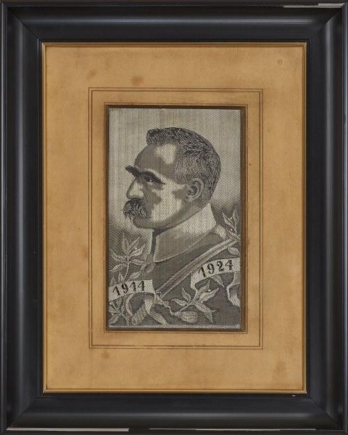 Autor Nieokreślony, postać Józefa Piłsudskiego, 1928