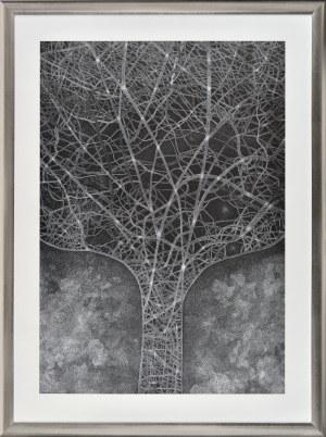 Elżbieta Maj (1990), Abstrakcyjne drzewo, 2018