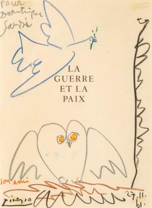 Pablo PICASSO (1881 - 1973), Le guerre et la paix, 1961