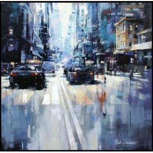 Piotr ZAWADZKI, Metropolis. NYC Blue, 2019 r.