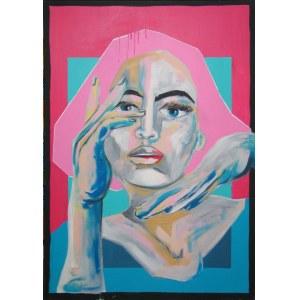 Sławomir DANIELSKI, Pink Hair, 2019 r.