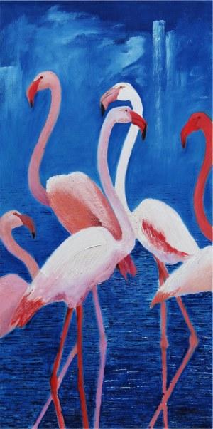 Helena Rokitnicka, Flamingi, 2019