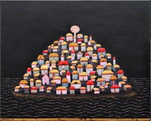 Grażyna Kilanowicz-Barecka, Kompozycja wyspa, 2019