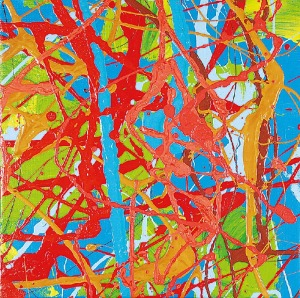Edward DWURNIK (ur. 1943), Abstrakcja XXV, 2004
